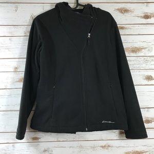 Eddie Bauer Fleece Hoodie Zippered Jacket